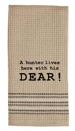 Hunter and Dear Dishtowel