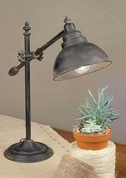 Industrial Swing Arm Desk Lamp