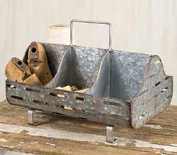 Zinc Farm Feed Trug