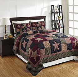 Plum Creek King Quilt Set
