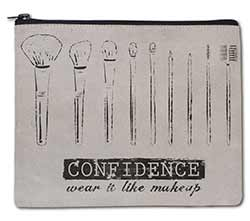Confidence Travel Make Up Bag