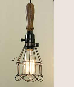 Reproduction Vintage Trouble Light