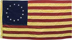 Large Colonial Betsy Ross Flag
