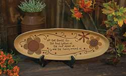 We Give Thanks Decorative Tray