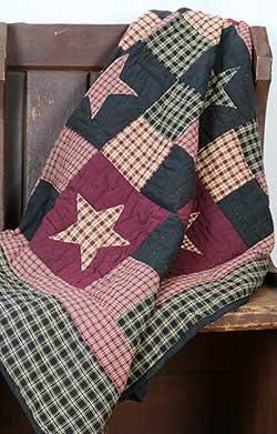Plum Creek Quilted Throw