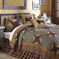 Folkways Luxury King Quilt Set