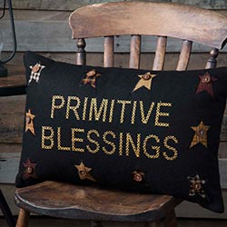 Primitive Blessings Pillow