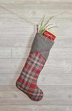 Anderson Christmas Stocking - Long