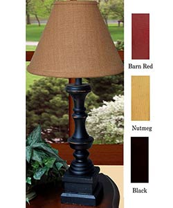 Covington Lamp Base - Red