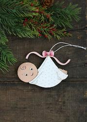 Special Delivery Baby Ornament (Personalized)