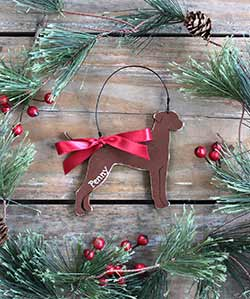Labrador Dog Ornament (Personalized)