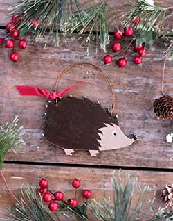 Hedgehog Ornament (Personalized)