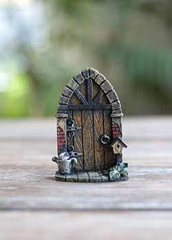 Fairy Garden Door with Watering Can