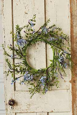 Lilac Floral Wreath