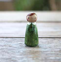 Shamrock Lass Art Doll