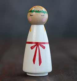 Saint Lucia Peg Doll