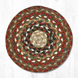 Honey, Vanilla, & Ginger Braided Tablemat - Round