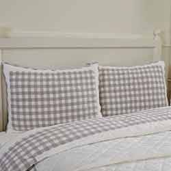 Annie Buffalo Grey Check Standard Sham