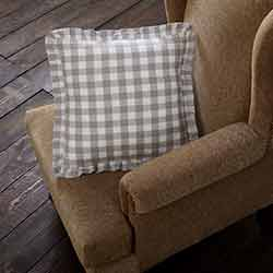 Annie Buffalo Grey Check Throw Throw Pillow (18 inch)