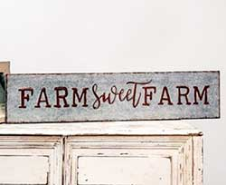 Farm Sweet Farm Tin Sign