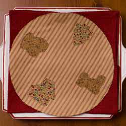 Cookie Cutter Round Placemats (Set of 6)