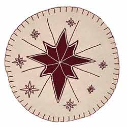 North Star Placemats (Set of 6) - round