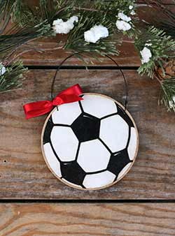 Soccer Ball Ornament (Personalized)