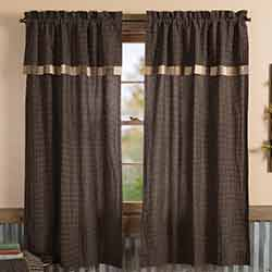 Kettle Grove Short Panel with Attached Valance Block Border