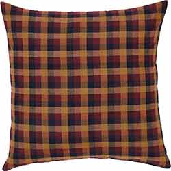 Heritage Farms Primitive Check Euro Sham