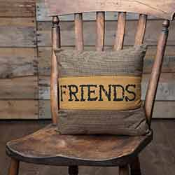 Heritage Farms Friends Throw Pillow