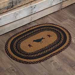 Heritage Farms Crow Braided Rug