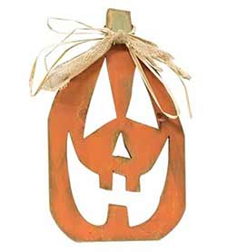 Jack-O-Lantern Face Wall Decor
