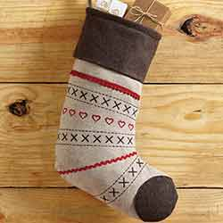 Merry Little Christmas 15 inch Stocking