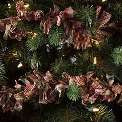 Clement Rag 9 foot Garland (Set of 3)