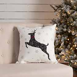 Emmie Deer Pillow (18x18)