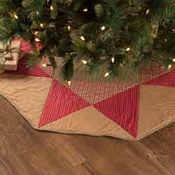Dolly Star 48 inch Tree Skirt