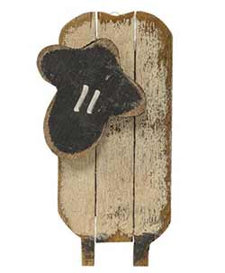 Lath Sheep Wall Decor