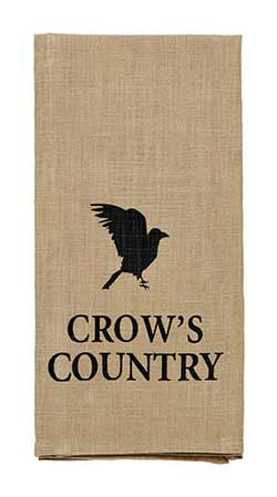 Crow's Country Dishtowel