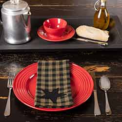 Black Star Napkins (Set of 6)