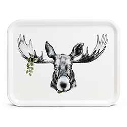 Forest Prince Moose Tray