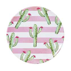 Cactus Melamine Plates (Set of 4)
