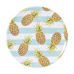 Pineapple Melamine Plates (Set of 4)