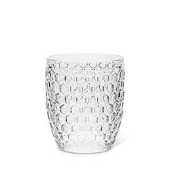 Honeycomb Glass Old Fashions (Set of 4)
