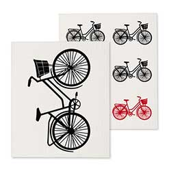 Bicycle Swedish Dish Cloths (Set of 2)