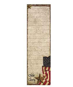 Old Glory List Notepad