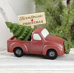 Farmhouse Christmas Truck with Tree