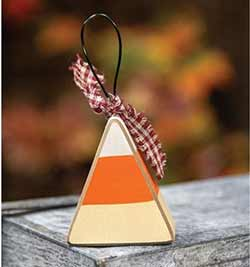 Candy Corn Shelf Sitter / Ornament