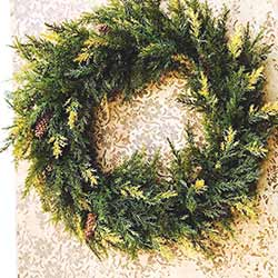 Prickly Pine Wreath