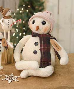 Winter Snuggles Snowman Doll