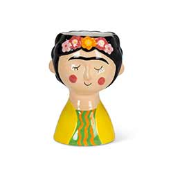 Lady with Eyebrows Small Vase